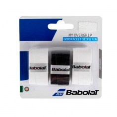 Blister My Overgrip Babolat negro - blan | Overgrips  | Time2Padel