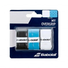Blister My Overgrip Babolat negro - azul | Overgrips | Time2Padel