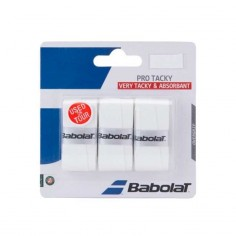 Blister Overgrips Protacky blanco | Overgrips  | Time2Padel