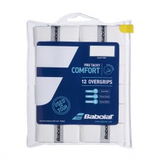 Overgrips Protacky Refill x12 white | Overgrips  | Time2Padel